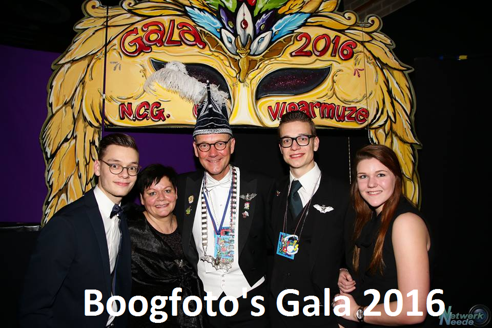 Boogfoto's Gala 2016